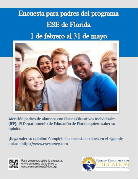ESE Parent Survey Spanish